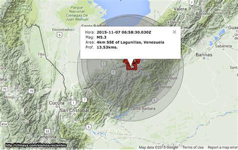 imagenes temblor en merida venezuela hoy fuertes sismos han ocurrido en m 233 rida temblor en