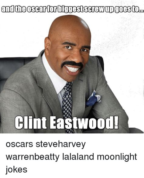Funny Oscar Memes - and the oscar for diggestscrew upgoestoid clint eastwood