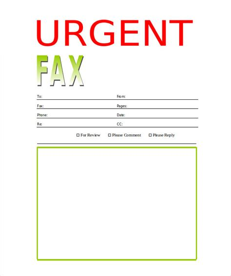 printable urgent fax cover sheet printable fax cover sheet 10 free word pdf documents