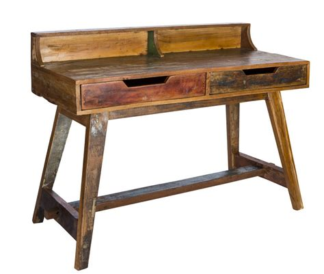 kruger reclaimed wood writing desk by reason season time