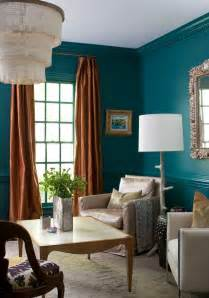 Teal Livingroom by Painting And Design Tips For Dark Room Colors