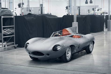 Car Types Race by Jaguar D Type Race Car Production Restarts Autobics