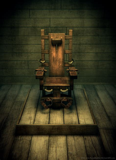The Green Mile Electric Chair by Electric Chair By Deargruadher On Deviantart