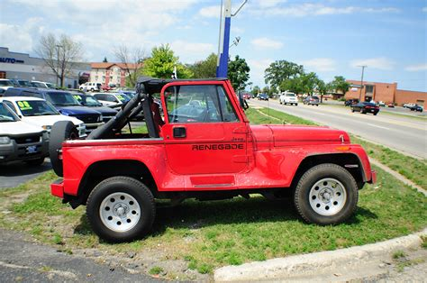 4x4 jeep for sale 1991 jeep wrangler renegade 4x4 sale
