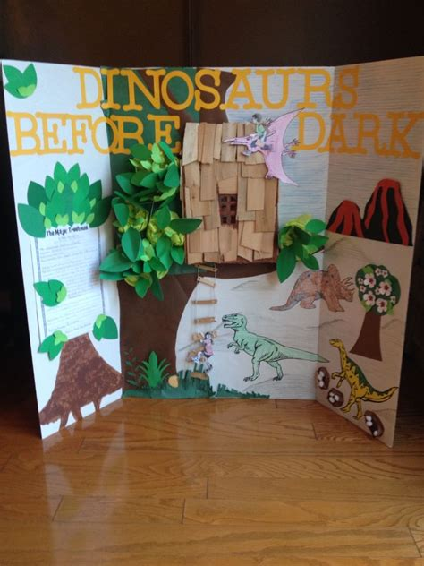 Magic Tree House Dinosaurs Before Book Report by Magic Tree House Dinosaurs Before Storyboard School Trees Magic Tree