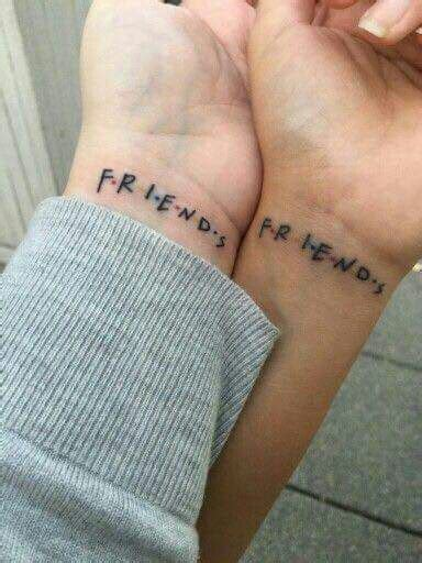 friends tv show tattoo best friend tat tattoos ideas jokes all