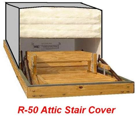 stair r 22x54 attic pull stair ladder cover r 50 insulation hardware products store