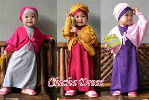 Gamis Anak 1 Thn Gamis Anak Chicha Dress A625