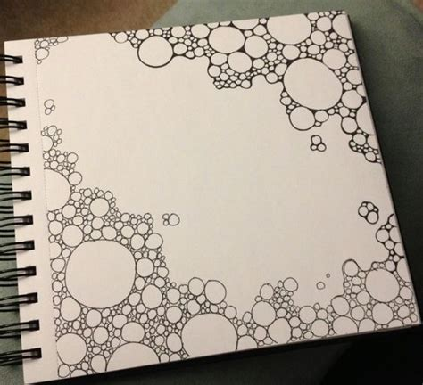 doodle draw theme progress of a gravel doodle drawings circles and