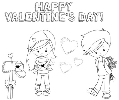 coloring page net valentine valentines coloring pages happiness is homemade