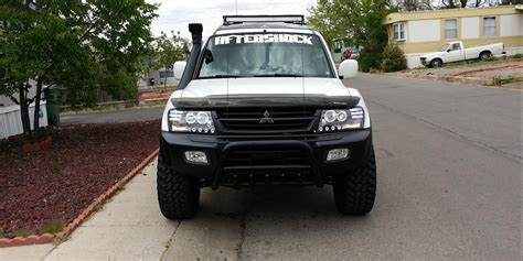 lifted mitsubishi endeavor aftershock2276 2002 mitsubishi monterolimited sport