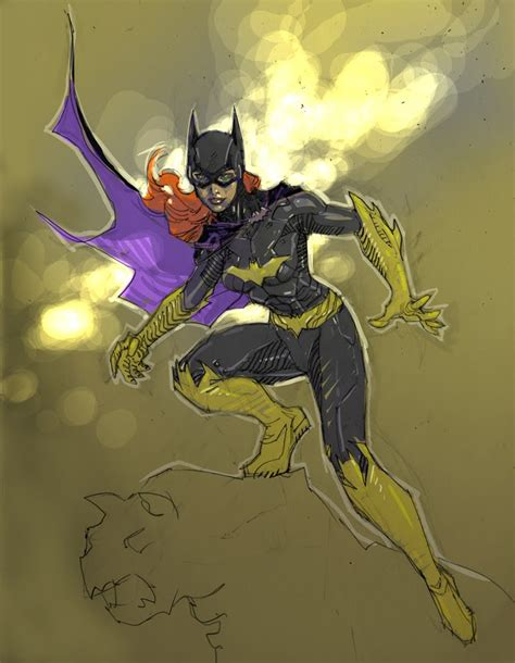 idle dc s new 52 batgirl comic preview