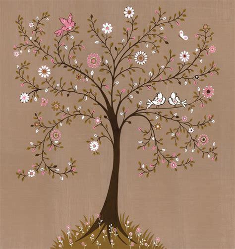 Dc Tree Lighting Tree Of Life Traditional Wallpaper Toronto By Ruth