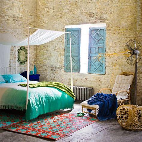 Green Bedroom Accessories Uk emerald green and stripped brickwork bedroom bedroom