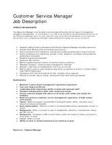 job description for customer service representative resume 3 - Customer Service Representative Job Description Resume
