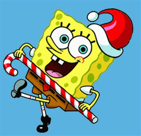 a bikini bottom christmas nickelodeon star spongebob