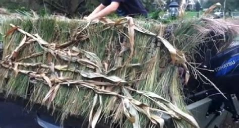 duck blind boat hide beat boredom with this diy duck boat blind project