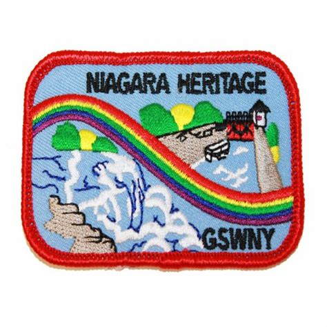 western heritage company border patrol patch western new york niagara heritage patch