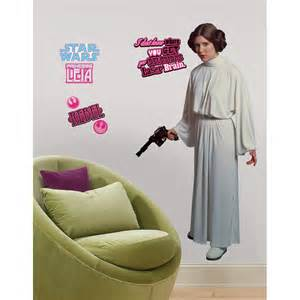 Star Wars Wall Stickers For Bedrooms New Giant Princess Leia Wall Decals Star Wars Movie Room