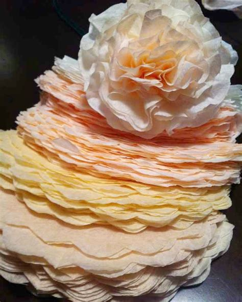 how to make coffee filter flowers u create