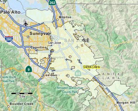 san jose gis map san jose ca largest cities places fastest growing cities