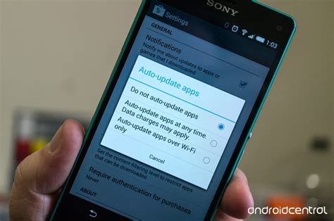 update android apps updating your apps through play android central