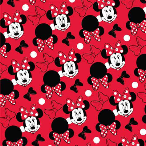 6 best images of printable minnie mouse pattern minnie