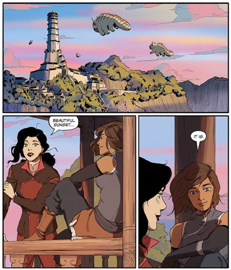 the legend of korra turf wars part two books to comics quot legend of korra turf wars quot answers your