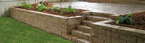 retaining wall patio design dolan s landscape center mn landscaping and
