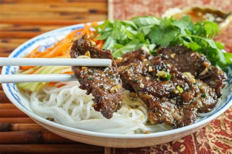 Bun Thit Nuong by B 250 N Thịt Nướng Grilled Pork With Rice Noodles