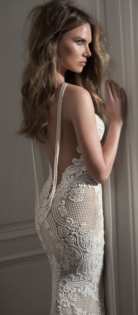 pearl modiadias dress 2015 berta wedding dress 2015 with pearl back tulle