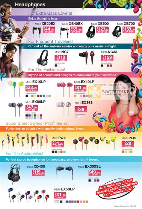 Sony Earphone Mdr Pq5 sony headphones earphones mdr xb20ex xb40ex xb500 xb700
