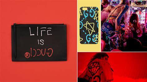 Gucci blurs the boundaries between street art and luxury