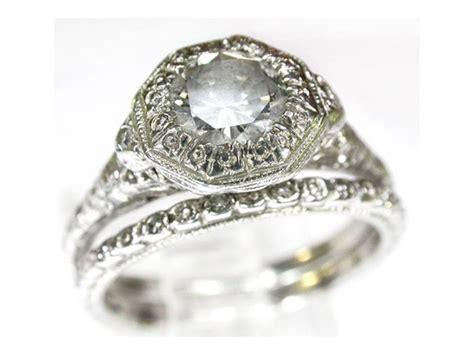 dazzling vintage platinum wedding ring ipunya