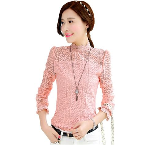 Sale Blouse High Quality aliexpress buy 2015 high quality fashion lace blouse plus size sleeve