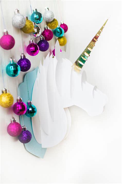 imagenes de unicornios en navidad 6 diy inspirados en unicornios la vida en craft