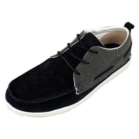 mens caterpillar cat alec oxford boat shoes leather deck