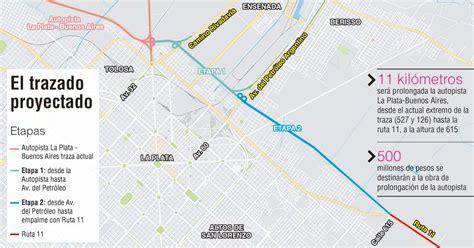 autopista ruta de la plata prolongar 225 n la autopista la plata y proyectan conectarla