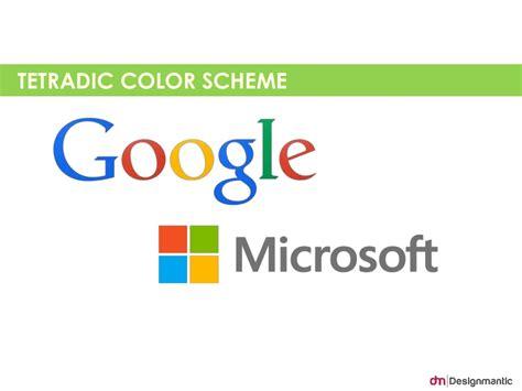 tetrad color scheme tetradic color scheme