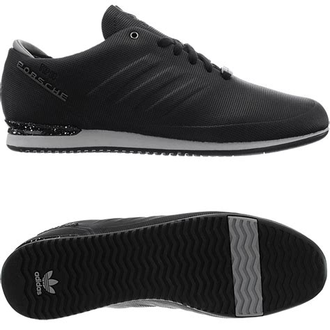 adidas porsche typ 64 sport s low top sneakers black blue casual trainers ebay