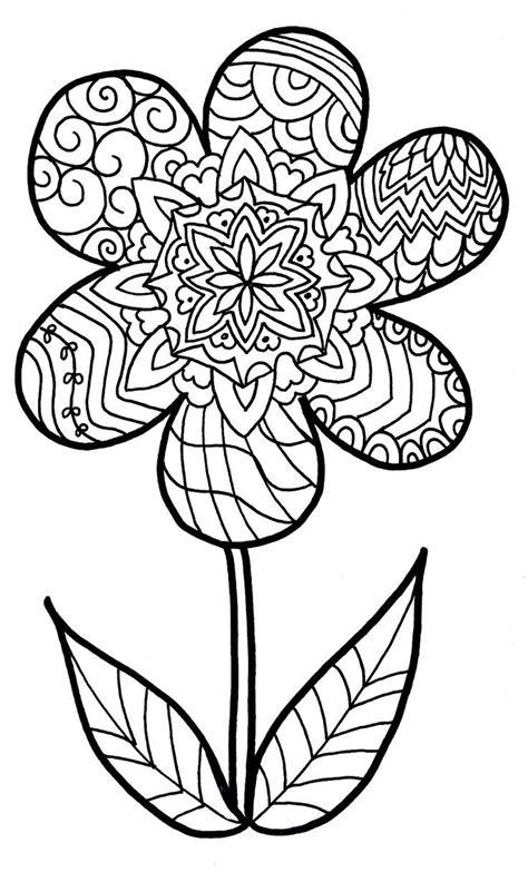 zentangle mandala coloring pages 1000 images about bloemen flowers fleurs blumen on