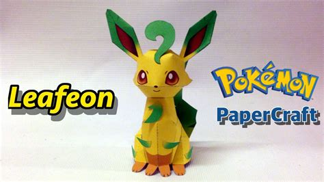 Leafeon Papercraft - leafeon papercraft