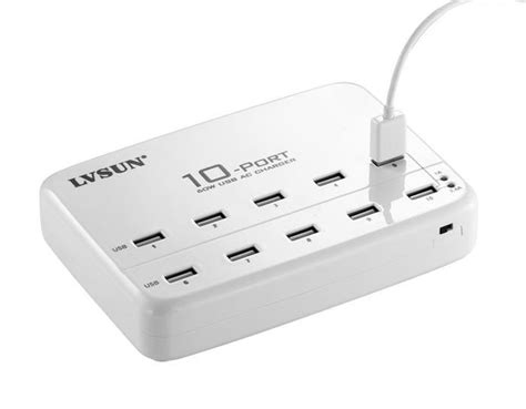 Multi Port Usb 60 watts 10 port usb wall charger multi port for usb