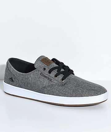 Adidas Romero Grey skate shoes zumiez