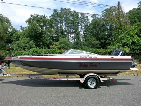 baja boats 1988 baja sunsport 21ft bass boat for sale