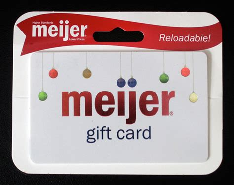 Meijer Gift Card - meijer 2011 holiday gift card on behance