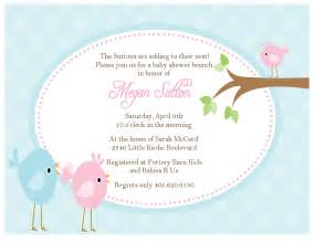baby shower bird invitations theruntime