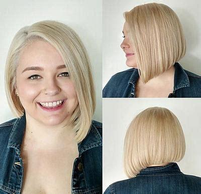 model rambut pendek wanita gemuk  terlihat kurus