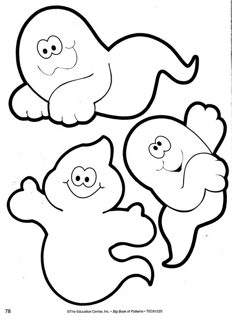 printable halloween ghost pictures best photos of cute ghost template cute ghost pumpkin