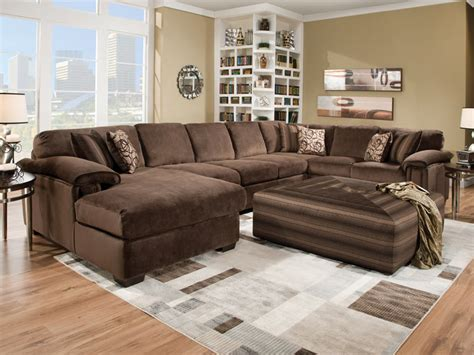 sofa with large ottoman sectional sofa with large ottoman thesofa